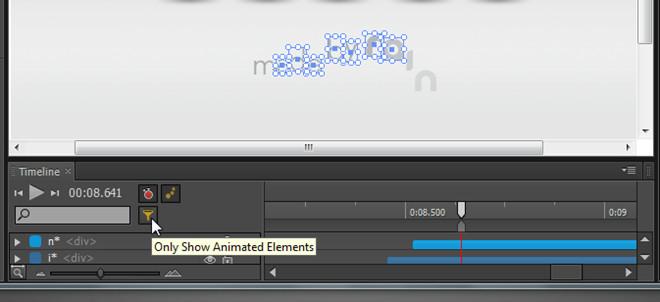 animated elements