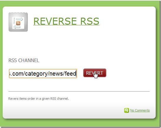 rss tools invert