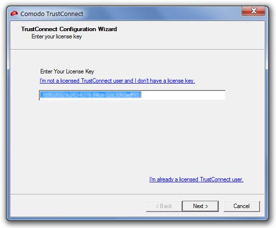 Comodo TrustConnect