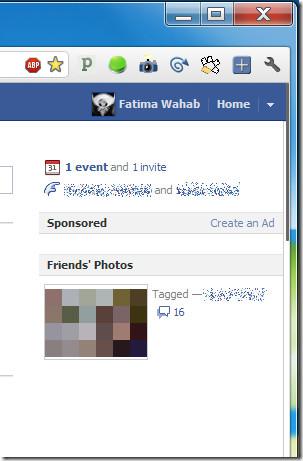 Facebook News Ticker Remover