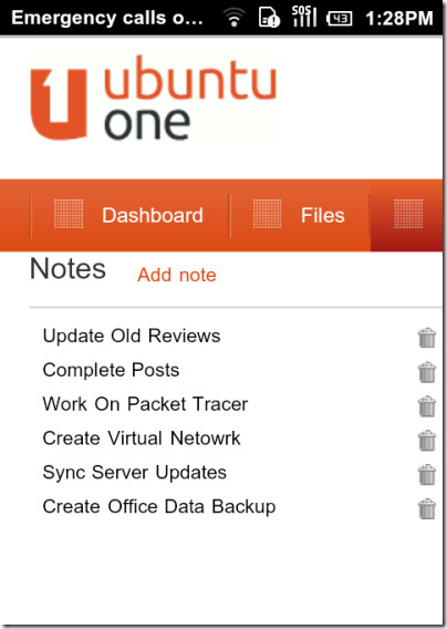 UbuntuOne For Android-02