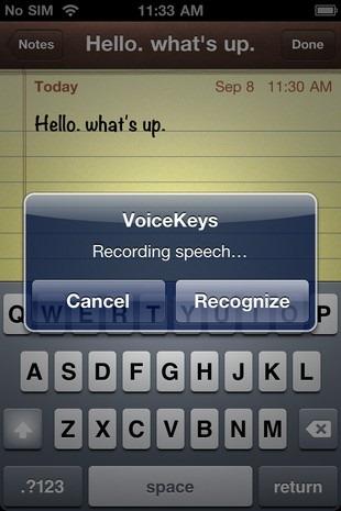 VoiceKeys