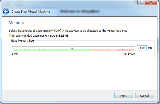 create new virtual memory