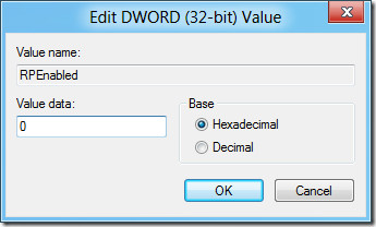 edit registry windows 8