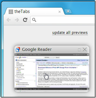 theTabs preview