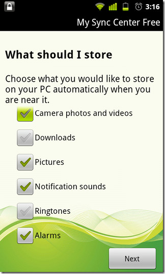 01-My-Sync-Center-Android-Categories