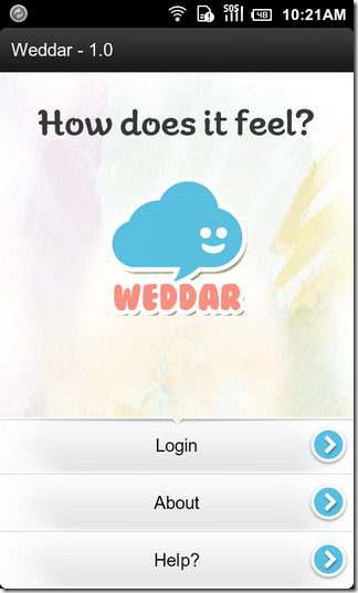 01-Weddar-Android-Welcome