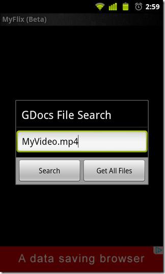 02-MyFlix-Streamer-Search