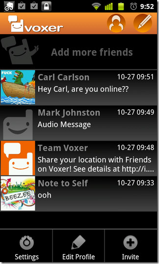 02-Voxer-Android-Home