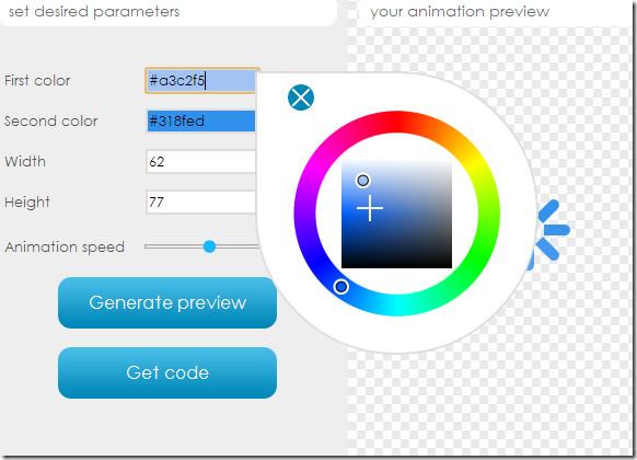 CSS Load set colors