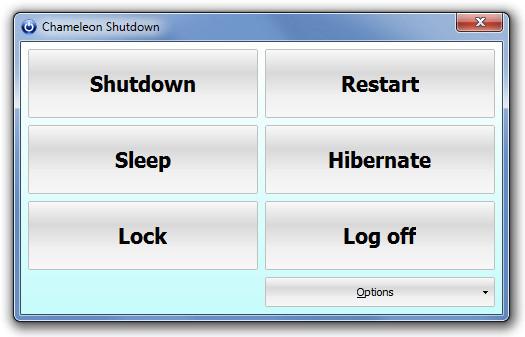 Chameleon Shutdown