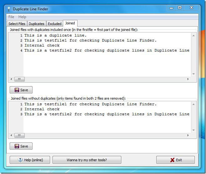 Duplicate Line Finder 5