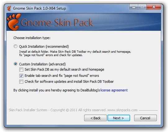 Gnome Skin Pack 1.0-X64 Setup