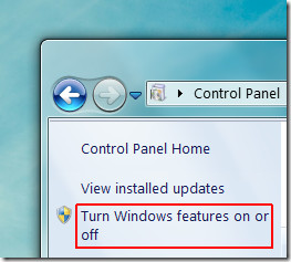 Turn features on or off