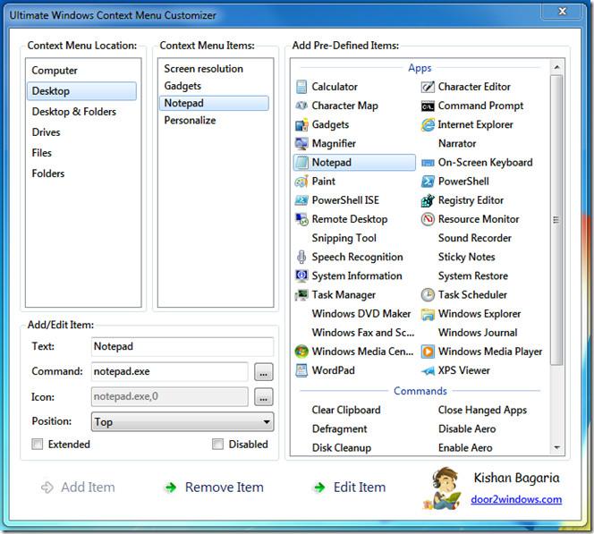 Ultimate Windows Context Menu Customizer 2