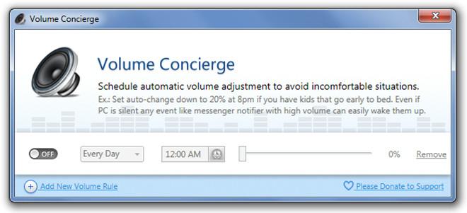 Volume Concierge Extended
