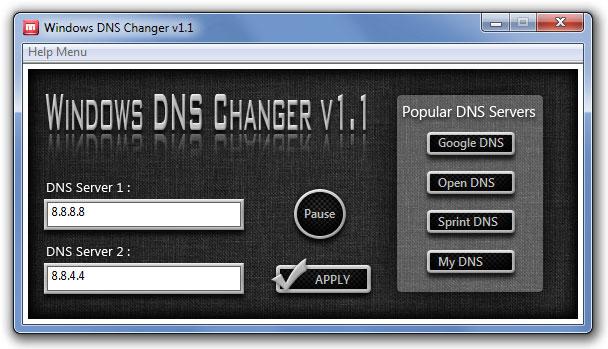 Windows-DNS-Changer2