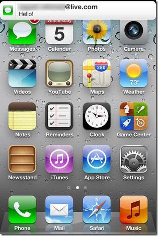 iMessage-Notification