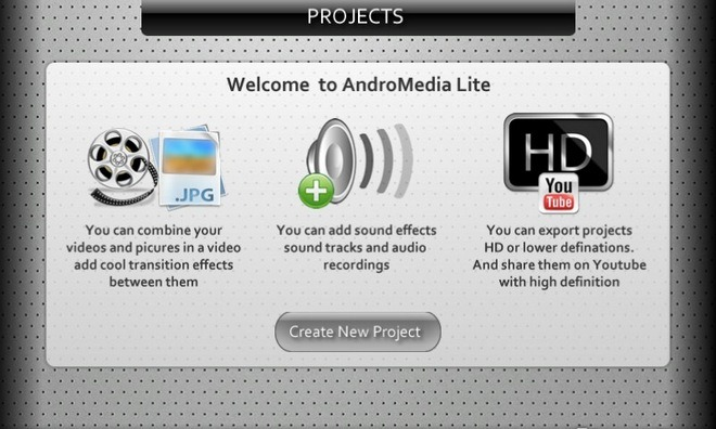 02-AndroMedia-Editor-Android-Home