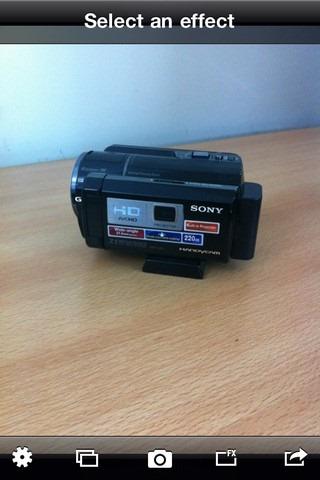 Bleach Bypass Camera