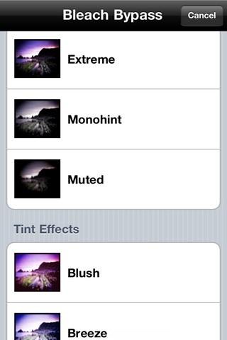 Bleach Bypass Effects