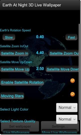 Earth_At_Night_3D_Live_Wallpaper_Settings