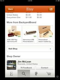 Etsy for iPhone Details