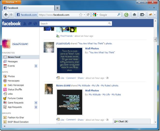 FB with FB Tweak