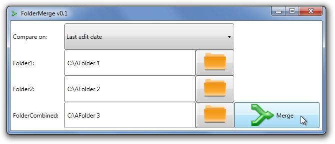 FolderMerge v0.1
