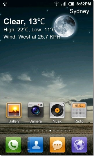 GO_Weather_Live_Wallpaper_Clear_Night