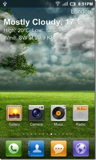 GO_Weather_Live_Wallpaper_Cloudy_Day