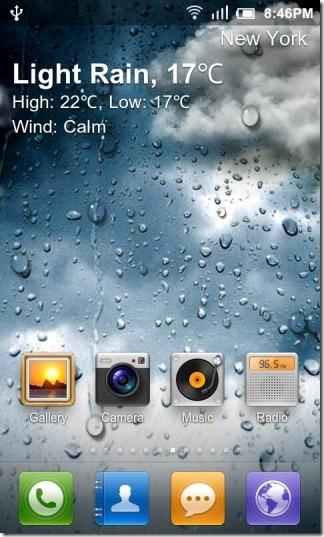 GO_Weather_Live_Wallpaper_Light_Rain