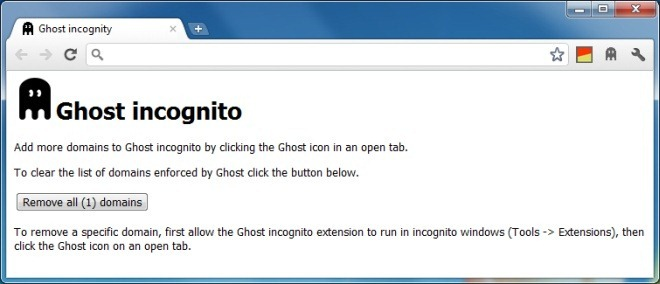 Ghost incognity