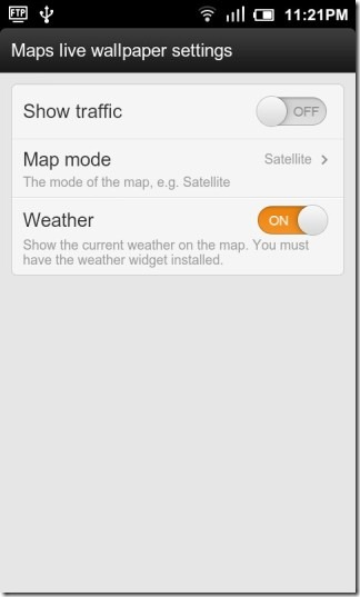 Google_Maps_Live_Wallpaper_Settings