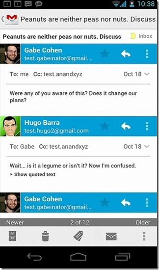 ICS Gmail Conversation