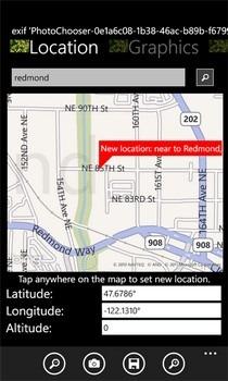 Image Map Location Info