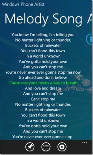 Lyrics Show