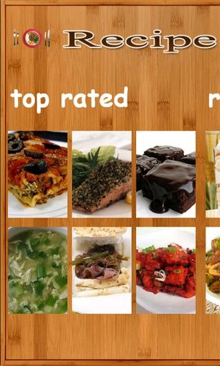 Recipe Shows Top Rated