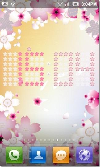 Seasons_Clock_Spring_Live_Wallpaper