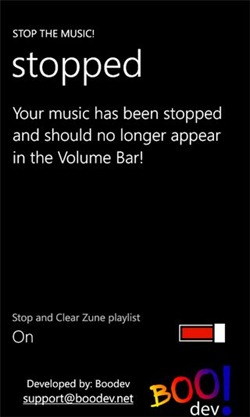 Stop The Music WP7