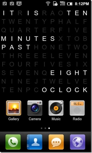 Text_Clock_Lite_Android