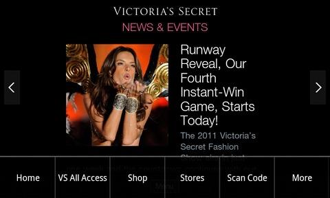 Victoria's-Secret-Android-Menu