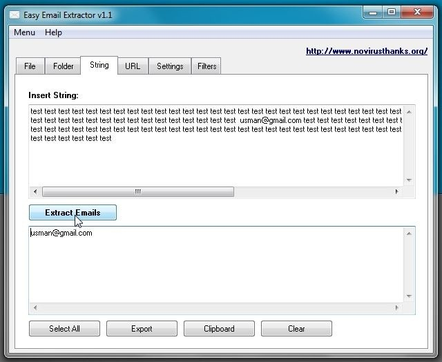 extract email 3
