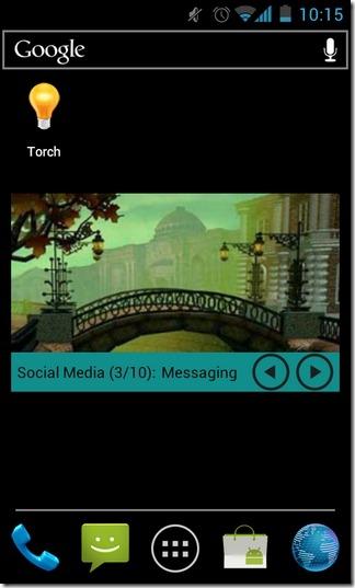 A-Wal-Android-Widget