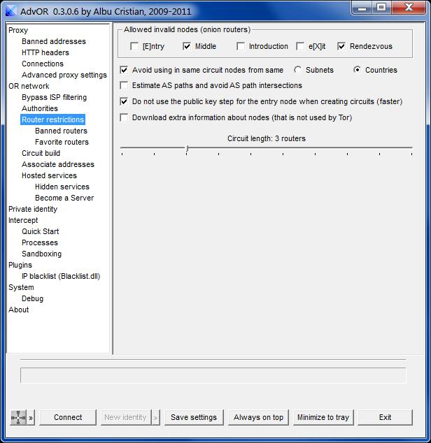 AdvOR  0.3.0.6 by Albu Cristian, 2009-2011