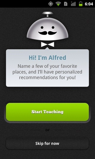 Alfred-Android-Start