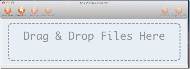 Any Video Converter add file