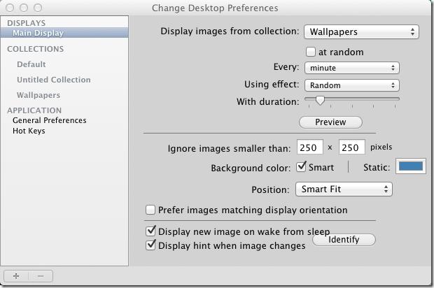 Change Desktop