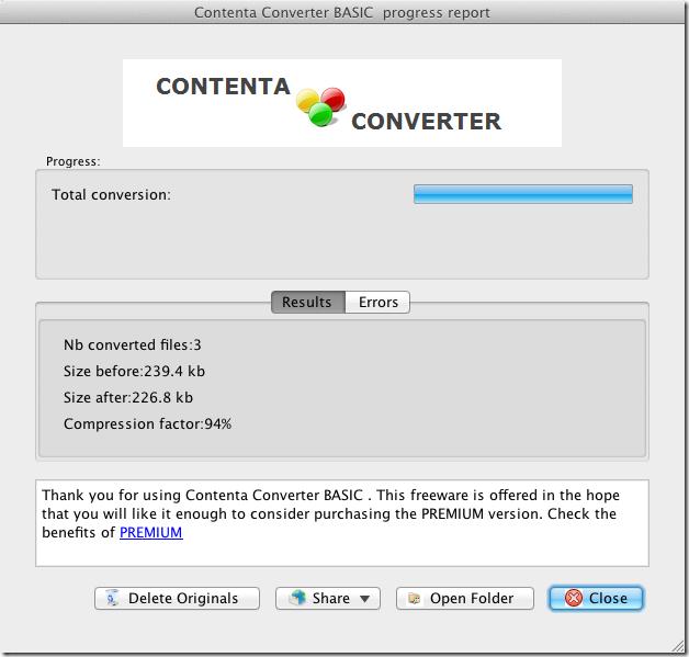Contenta Converter Basic converted