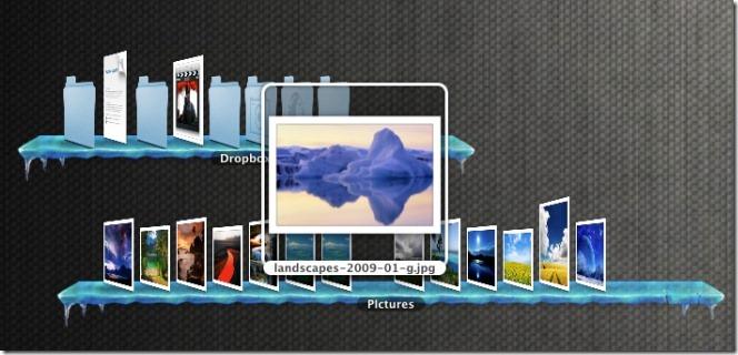 DesktopShelve open folder